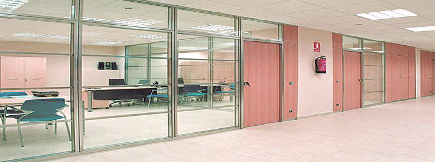 aluminium glass Frame office work