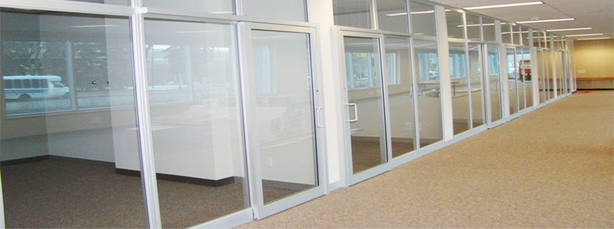 Mahavir aluminium glass frame structral show room