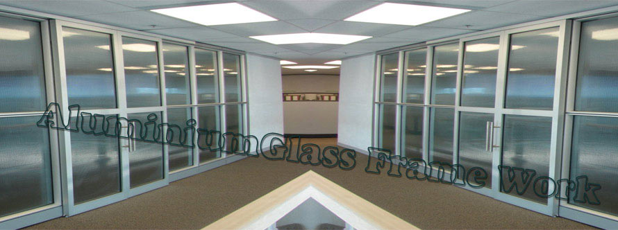 Mahavir aluminium glass structural partition