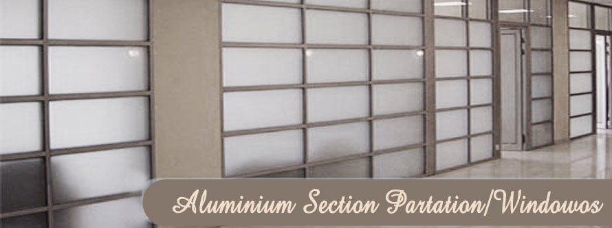 Aluminium Section Partition Windows