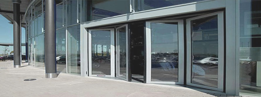 Aluminium Fram Structural Siliding Folding Glass Door