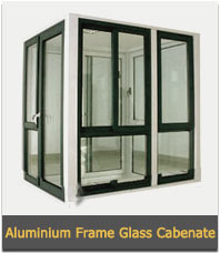 Aluminium Frame Glass Cabenate
